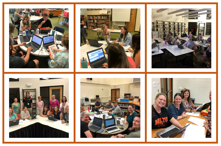 MASD teachers diving into data
